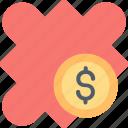 business, dollar, finance, idea, innovation, money, solution icon