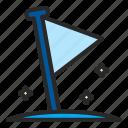 achievement, business, flag, goal