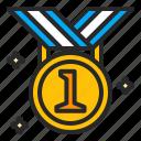 business, medal, success, winner