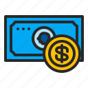 business, cash, coins, finance, marketing, money icon