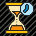 business, deadline, hourglass, period, sandglass