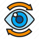 business, eye, review, view, visible icon