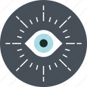 eye, monitoring, vision icon