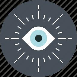eye, monitoring, vision icon