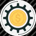 budget, cog, gear, money, money management