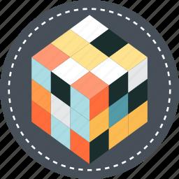 creativity, puzzle, solve icon