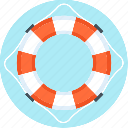 buoy, insurance, life, security icon