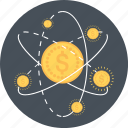 business, coin, earnings, gold, money, research icon