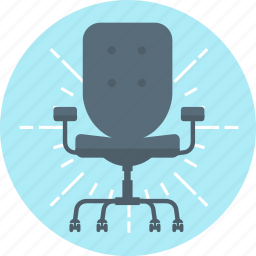 boss, chair, chair person, furniture, office, seat icon