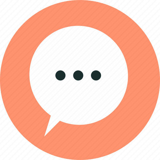 baloon, chat, message, speech, talk icon