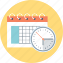 calendar, dead, deadline, line, schedual, time, time table icon