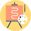 art, artistic, creative, illustration icon