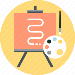 art, artistic, creative, illustration icon