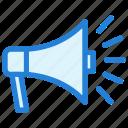 announcement, business announcement, megaphone, promotion, speaker