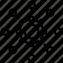 flowchart, forming, process diagram, process flow, processing icon