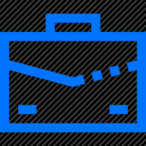 bag, briefcase, business, finance, portfolio, work icon