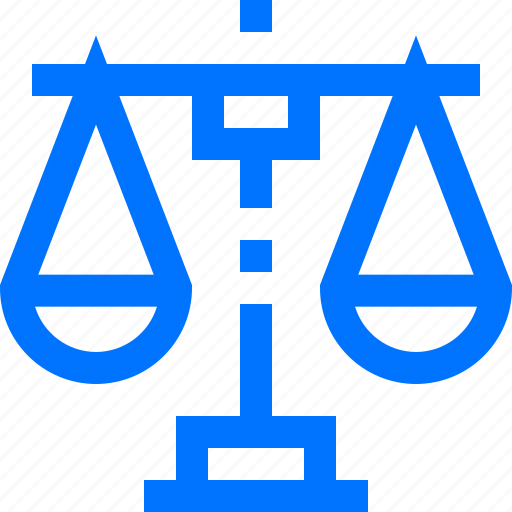 balance, business, finance, justice, scales icon