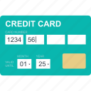 card, credit, finance, money, pay, payment, shopping icon