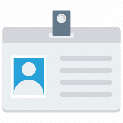 badge, card, document, id, identity, name, tag icon icon