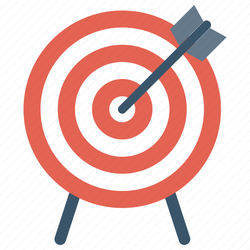 aim, bullseye, center, goal, purpose, success, target icon icon