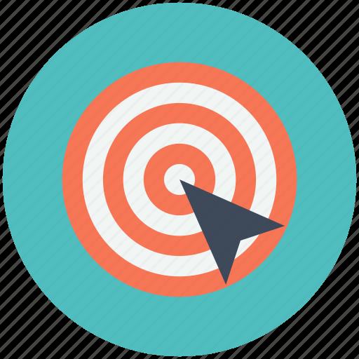 bullseye, goal, target, victory icon icon