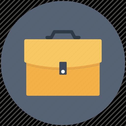 bag, brief case, briefcase, business, office, portfolio, suitcase icon icon