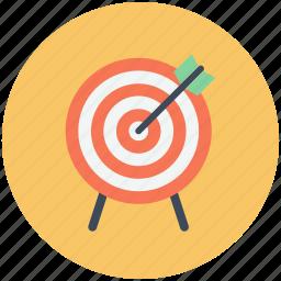 aim, bullseye, center, goal, purpose, success, target icon icon