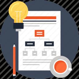 diagram, flowchart, idea, management, plan, scheme, workflow icon