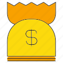 finance, money, purse, saving, value, wealth icon