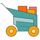 buy, cart, e commerce, shopping, trade icon