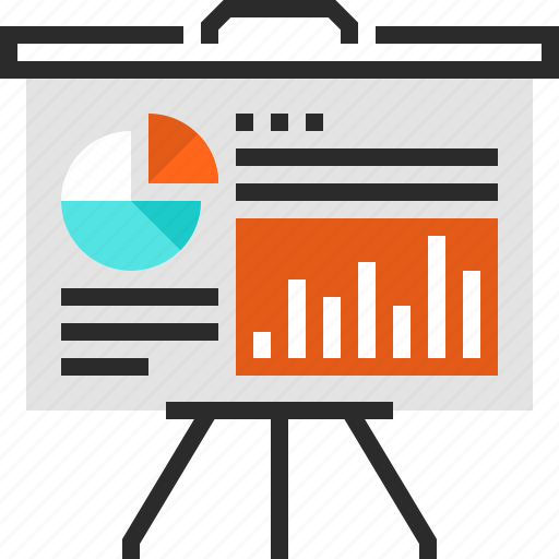 business, chart, data, finance, graph, presentation, statistics icon