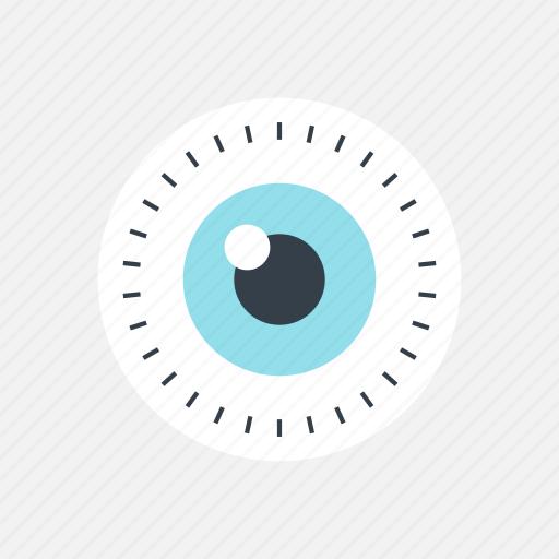 analysis, analytics, analyze, business, eye, eyesight, finance, look, plan, review, search, see, strategic, strategy, surveillance, vision, watch icon