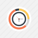 alarm, business, chart, clock, control, deadline, diagram, efficiency, finance, graph, management, optimization, performance, plan, planning, process, schedule, time icon