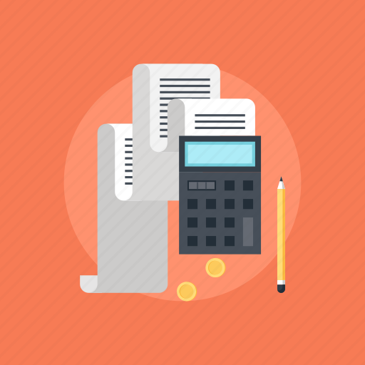 accounting, banking, business, calculator, currency, document, economy, file, finance, income, math, money, office, pay, payment, report, statement, statistics, tax, taxes icon