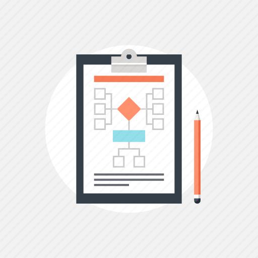 business, checklist, development, diagram, document, file, finance, flow, flowchart, idea, management, organization, plan, project, schedule, scheme, solution, work, workflow icon