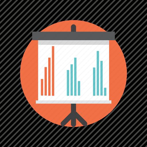 analysis, graph, growth, report, statistics icon
