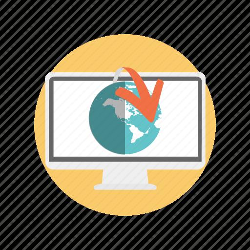 analytics, business, global, marketing icon