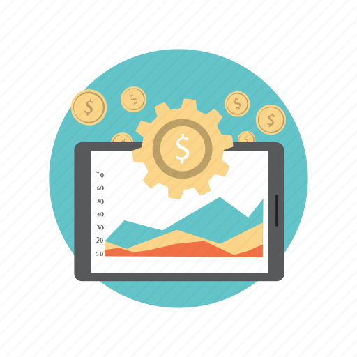 business, currency, dollar, finance, making, money icon