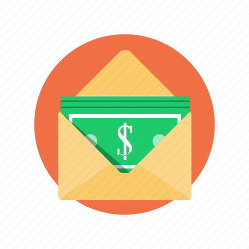 arrived, business, currency, money, payment icon