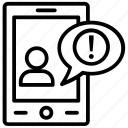 notification, chat alert, text alert notification, mobile communication, mobility