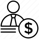 investor, entrepreneur, shareholder, banker, stockholder