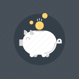 bank, banking, budget, business, cash, coin, commerce, currency, deposit, ecommerce, economy, finance, fund, funding, gold, income, investment, money, pig, piggy, savings, wealth icon