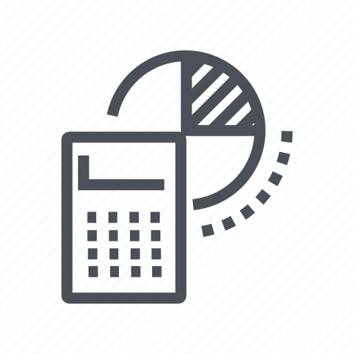 accounting, business, finance, graph, marketing icon