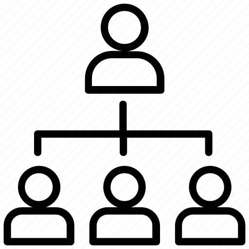 leader, leadership, manager, team hierarchy, team tree icon