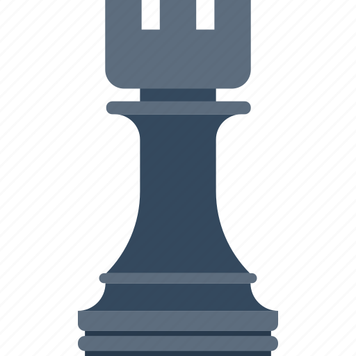 chess, figure, game, plan, rook, strategy, tower icon