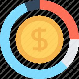 chart, finance, graph, investment, management, money, profit icon
