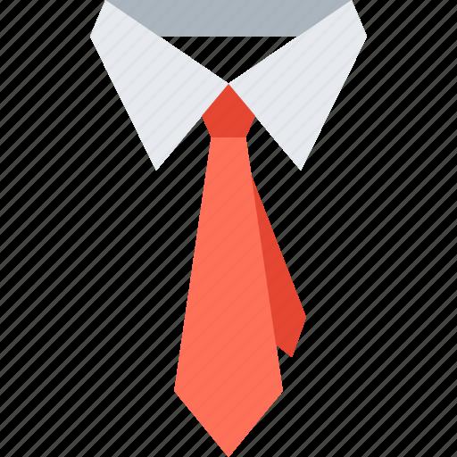 business, clothes, collar, dress, necktie, tie, wear icon