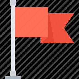 achievement, flag, goal, location, marketing, mission, success icon