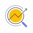 analysis, diagram, graph, report, statistics icon