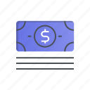 bank, business, cash, dollar, money icon